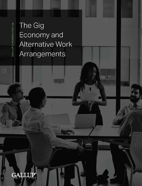 The cover of The Gig Economy and Alternative Work Arrangements perspective paper.