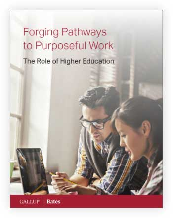 Cover of Forging Pathways to Purposeful Work: The Role of Higher Education