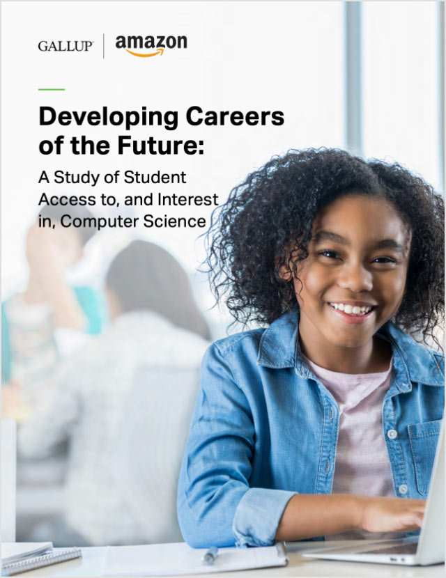 Cover or Developing Careers of the Future: A Study of Student Access to, and Interest in, Computer Science