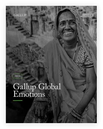 Cover of 2019 Gallup Global Emotions