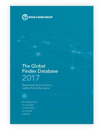 Cover of The Global Findex Database 2017: Measuring Financial Inclusion and the Fintech Revolution