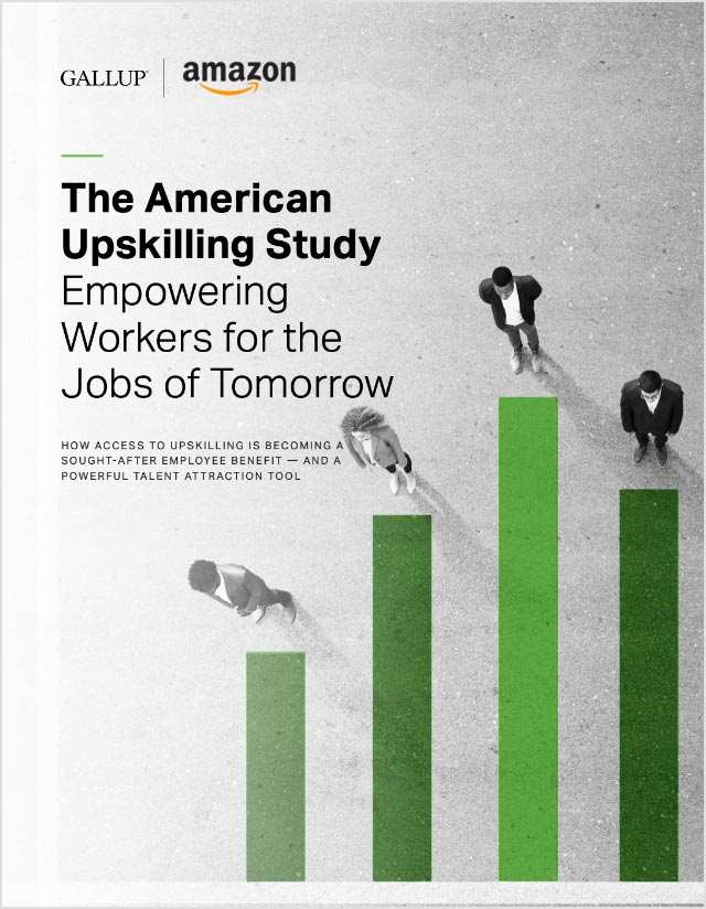 Cover of The American Upskilling Study: Empowering Workers for the Jobs of Tomorrow