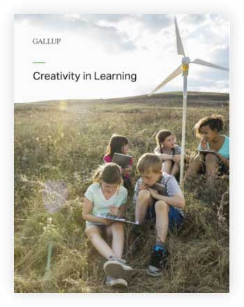 Cover of Creativity in Learning