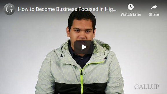 Play video: How to Become Business Focused in High School