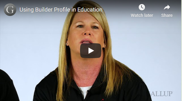 Play video:Using Builder Profile in Education