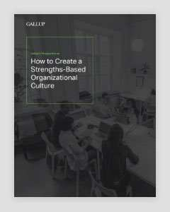 Cover of How to Create a Strengths-Based Organizational Culture