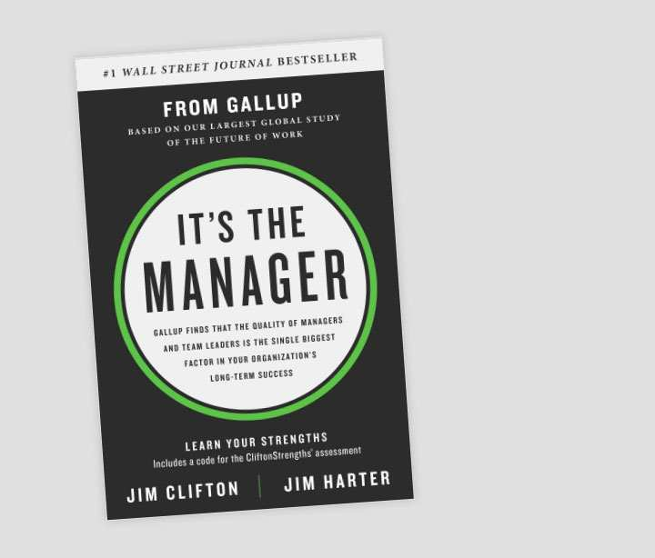 Book- It's the Manager
