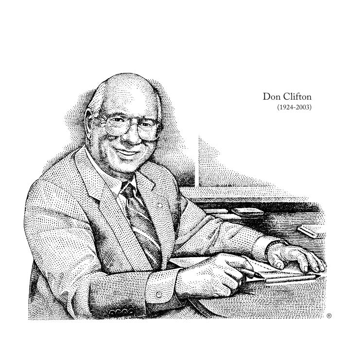 Don Clifton (1923-2004)