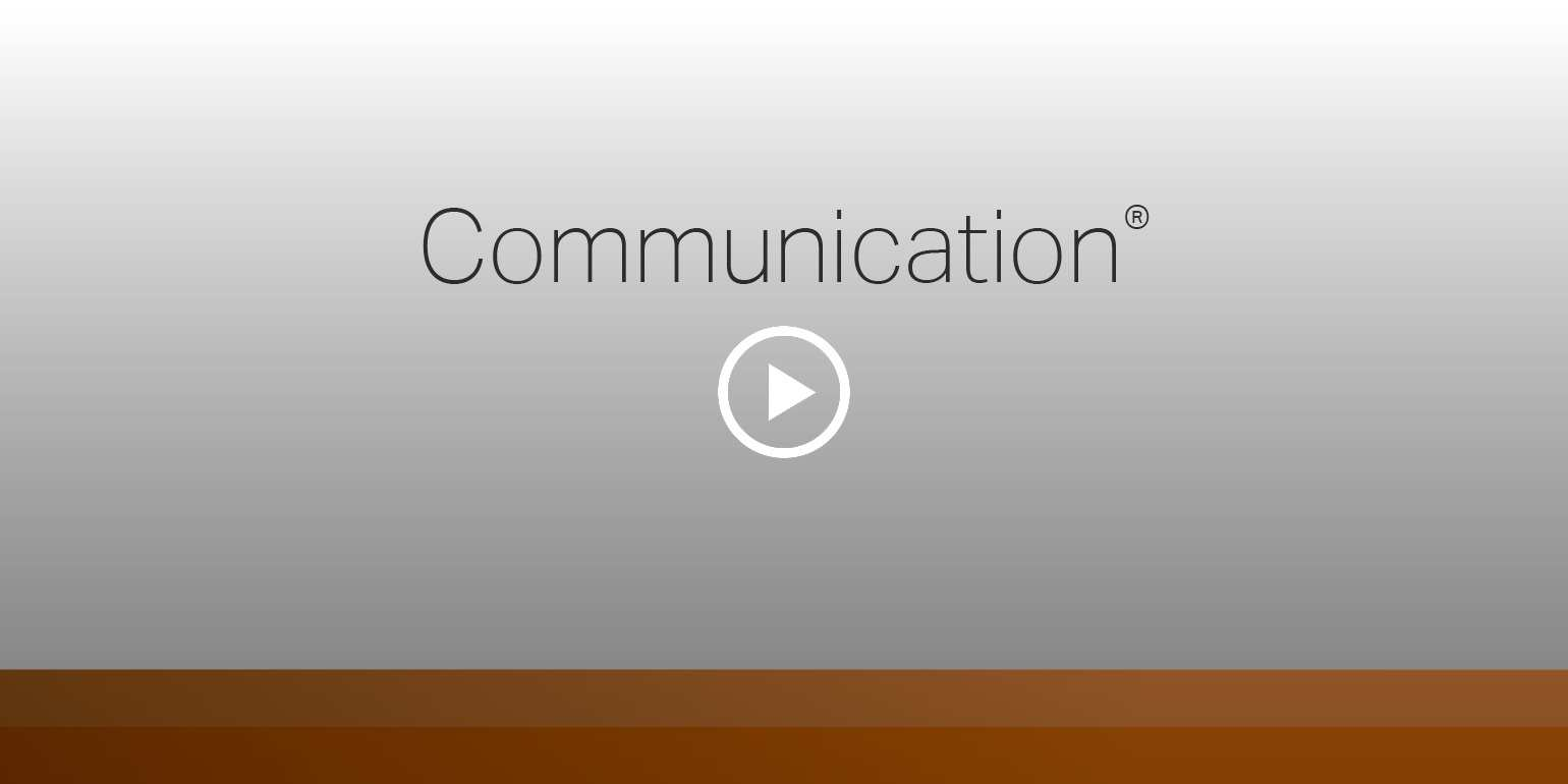Play video: Communication - Learn more about your innate talents from Gallup's Clifton StrengthsFinder!