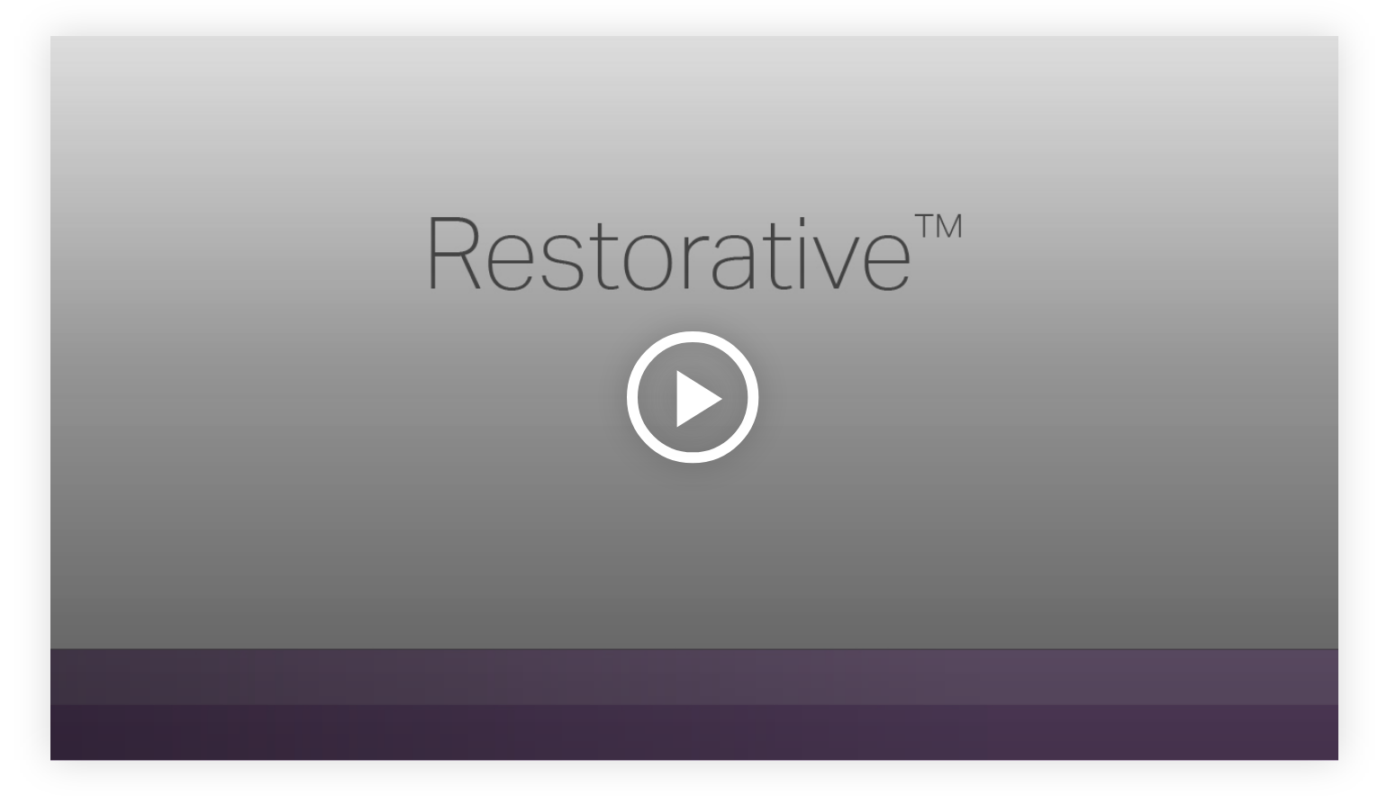 Play video: Restorative - Learn more about your innate talents from Gallup's Clifton StrengthsFinder!