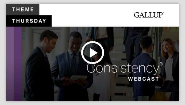 Play video about the Consistency CliftonStrengths Theme