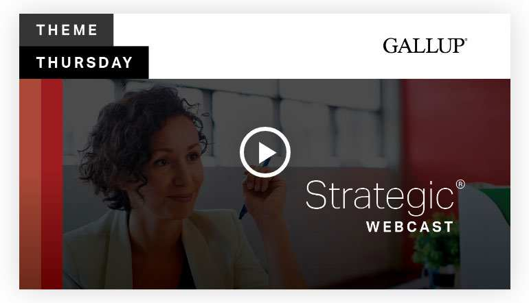 Play video: Strategic Theme | CliftonStrengths