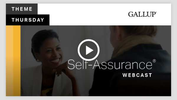 Play video about the Self-Assurance CliftonStrengths Theme