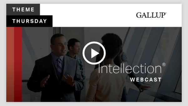 Play video about the Intellection CliftonStrengths Theme