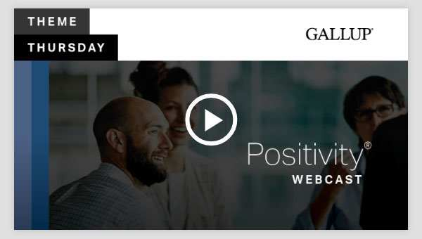 Play video about the Positivity CliftonStrengths Theme