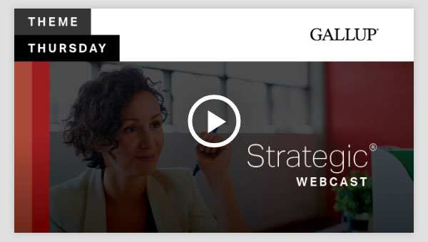 Play video about the Strategic CliftonStrengths Theme