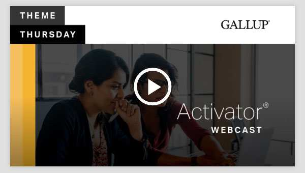 Play video about the Activator CliftonStrengths Theme