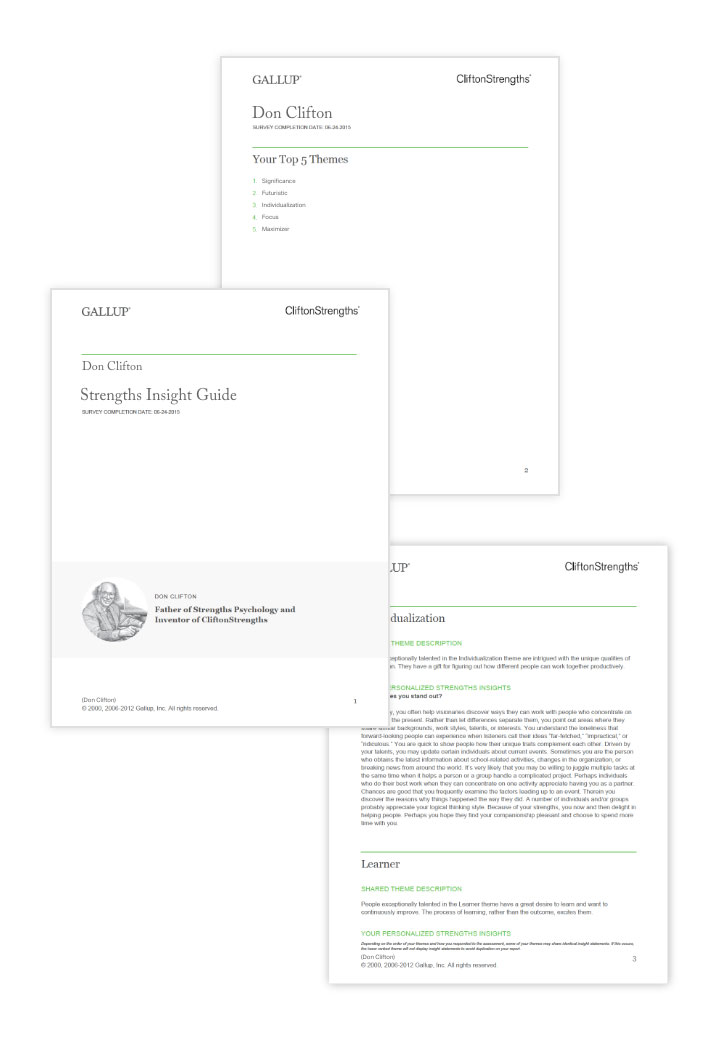 Strengths Insight Guide