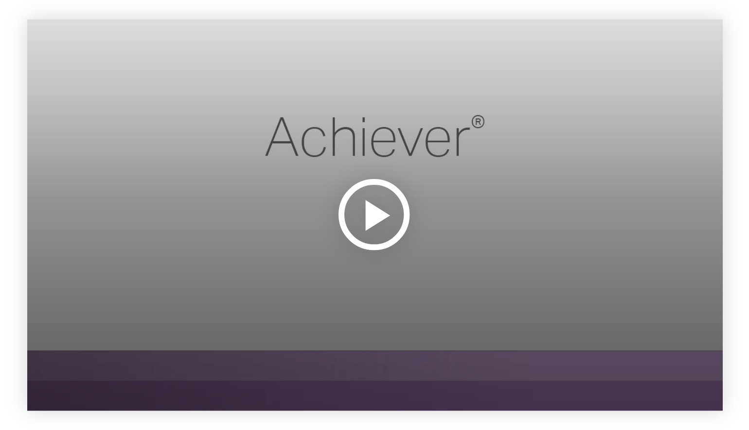 Play video - Achiever - Learn more about your innate talents from Gallup's Clifton StrengthsFinder!