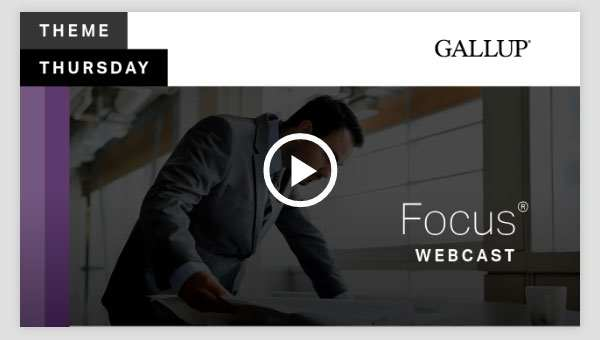 Play video about the Focus CliftonStrengths Theme