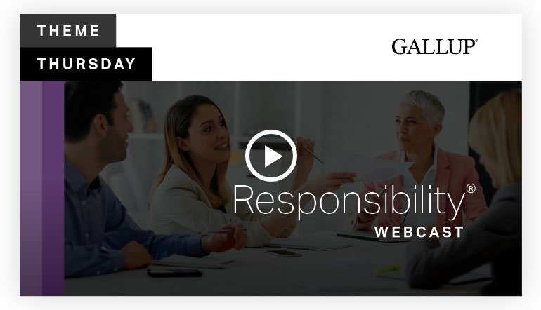 Play video: Responsibility Theme | CliftonStrengths