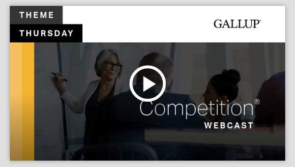 Play video about the Competition CliftonStrengths Theme