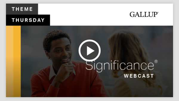 Play video about the Significance CliftonStrengths Theme