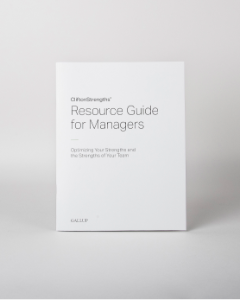 CliftonStrengths Resource Guide for Managers