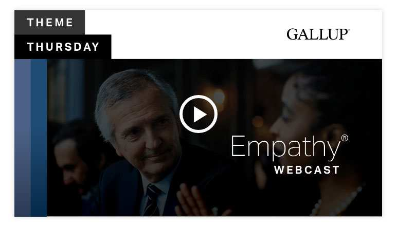 Play video 2:Empathy Theme   CliftonStrengths