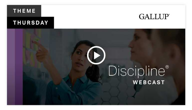 Play video 2:Discipline Theme | CliftonStrengths