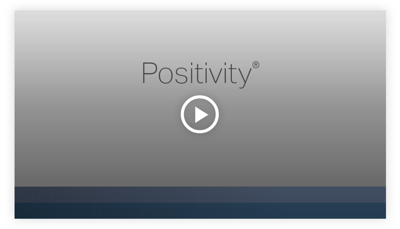 Play video:Positivity - Learn more about your innate talents from Gallup's Clifton StrengthsFinder!