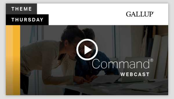 Play video about the Command CliftonStrengths Theme