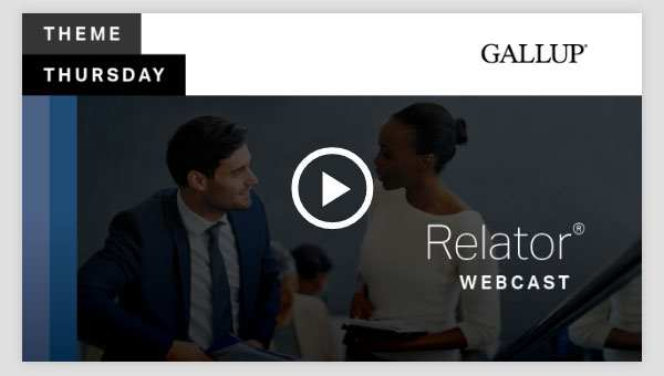 Play video about the Relator CliftonStrengths Theme