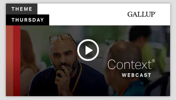 Play video about the Context CliftonStrengths Theme