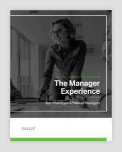 Cover of The Manager Experience: Top Challenges & Perks of Managers
