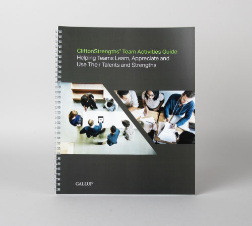 CliftonStrengths Team Activities Guide