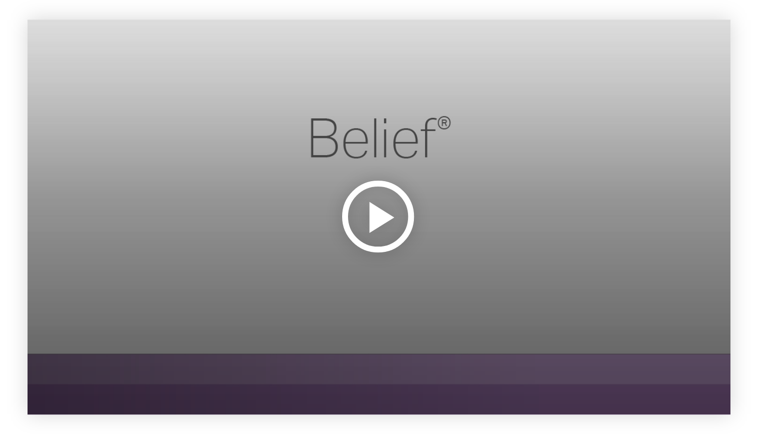 Play video: Belief - Learn more about your innate talents from Gallup's Clifton StrengthsFinder!
