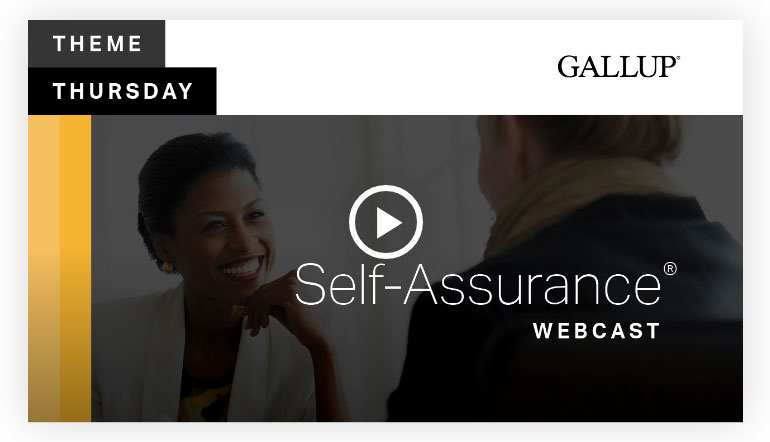 Play video: Self Assurance Theme | CliftonStrengths