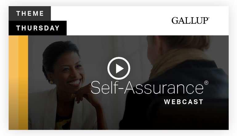 Play video: Self Assurance Theme | CliftonStrengths