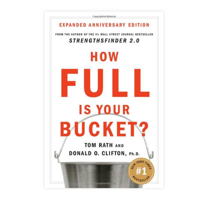 How Full Is Your Bucket? Book