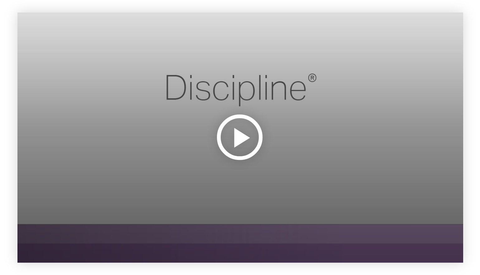 Play video:Discipline - Learn more about your innate talents from Gallup's Clifton StrengthsFinder!