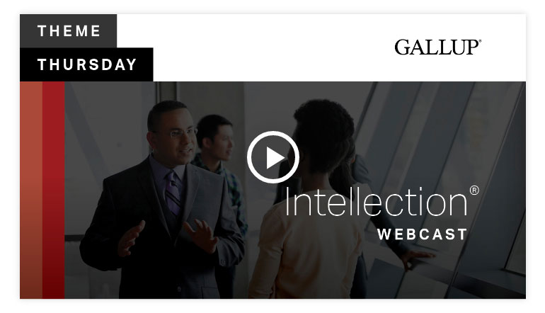 Play video: Intellection Theme | CliftonStrengths