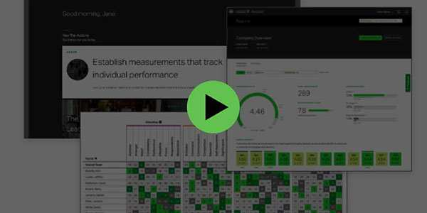 Button to play Gallup Access platform demo video