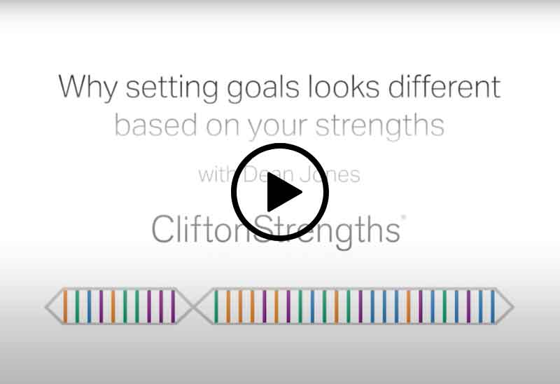 Play Setting Goals Based on Your Strengths video