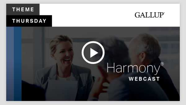Play video about the Harmony CliftonStrengths Theme