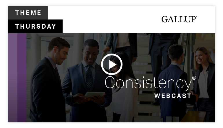 Play video 2:Consistency Theme   CliftonStrengths