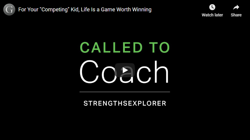Play video: Competing - Life Is a Game Worth Winning
