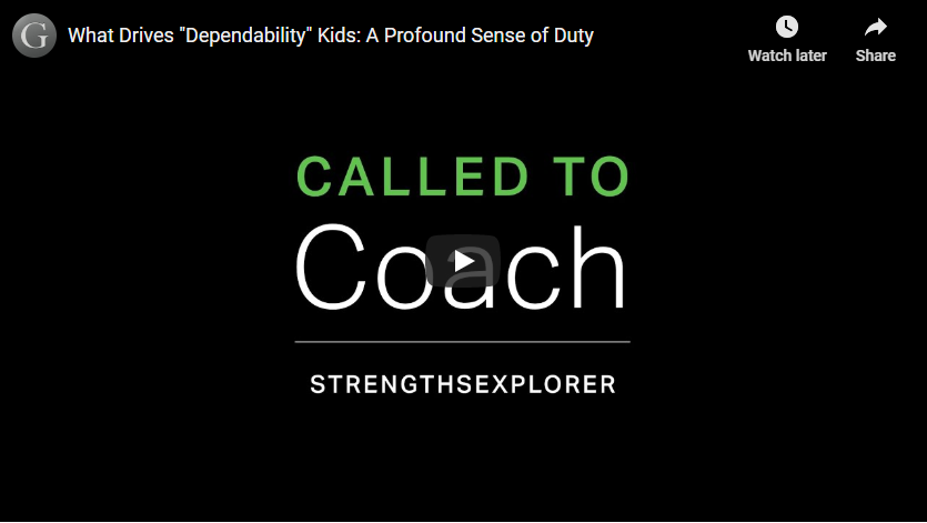 Play video: Dependability - A Profound Sense of Duty