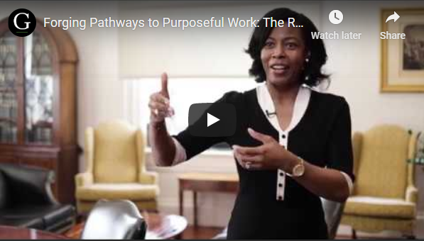 Play video: Forging Pathways to Purposeful Work: The Role of Higher Education