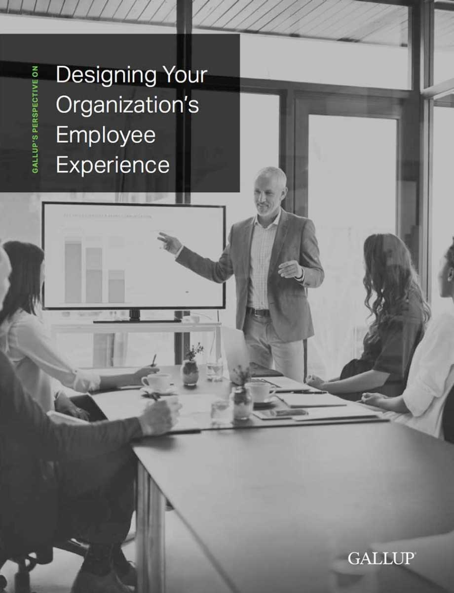 Gallup's Perspective on Designing Your Ogranization's Employee Experience